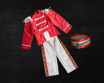 Childs Vintage Marching Band Costume - 1980s