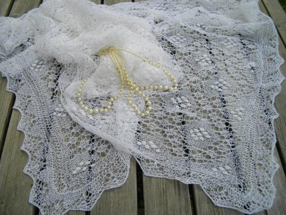 Haapsalu lace Schal Erbstück Braut Stola Hochzeit Schal   Etsy