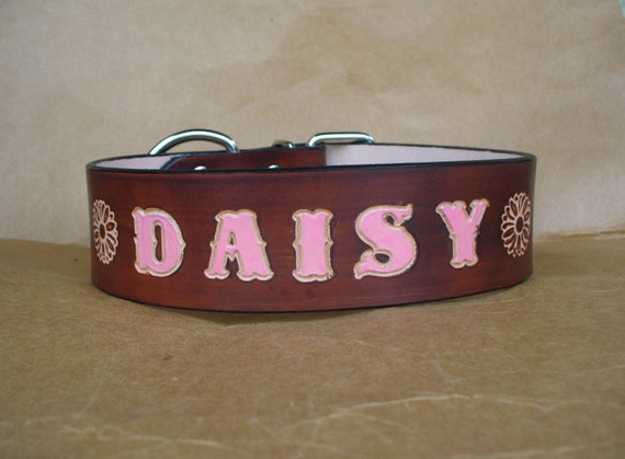 Big Dog Collar - Dog Collars for Big Dogs - Unique Leather Dog Collar - Cool Dog Collars - Dark Brown Dog Collars and Leashes - Made in USA