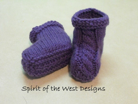 Knitted Booties Pattern Gallery Knitting Patterns Free Download