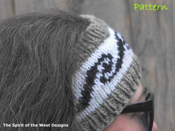 Headband Knitting Pattern Knit Headwrap Earwarmer Warmer Teen Etsy