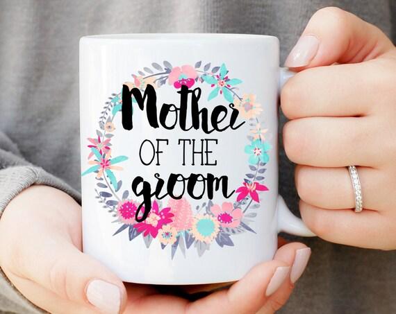Mother of the Groom Wreath Mug