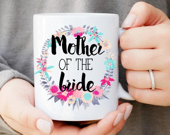 Mother of the Bride Wreath Mug