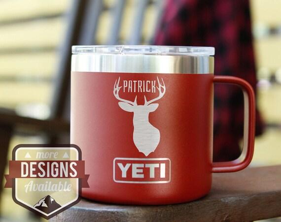 Laser Engraved Insulated Camping Mug - Yeti & Polar Camel Available!