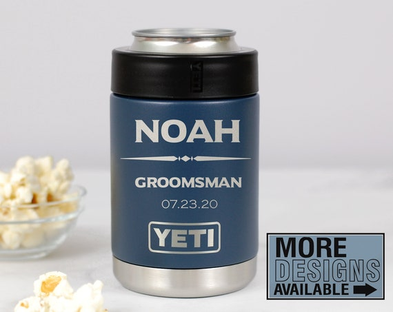 Personalized Groomsmen Colster