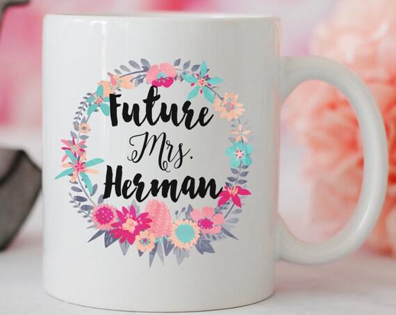Future Mrs. Wreath Mug