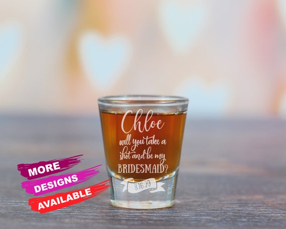 Personalized Shot Glass