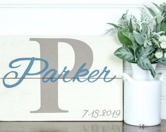 Established Sign - Wedding Gift - Family Name Sign - Wedding Sign - Last Name Sign - Anniversary Gift - Personalized Sign - Name Sign