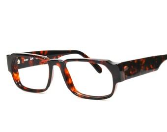 803578ce6fd Vintage Club LA 9300 Bold Rectangular Thick Tortoise Eyeglasses