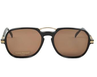 Louis Feraud Pianissimo Modified Aviator Square Men's Vintage Sunglasses France