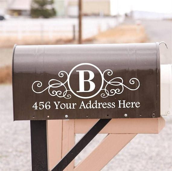 Custom Vinyl Mailbox Decal Address Decals Home Office