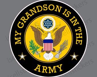 Army Logo Military Soldier Bumper Sticker Vinyl Decal U.S