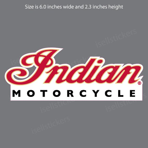 6 Poster in 3 Sizes Vintage Indian Motorcycle Advertisement