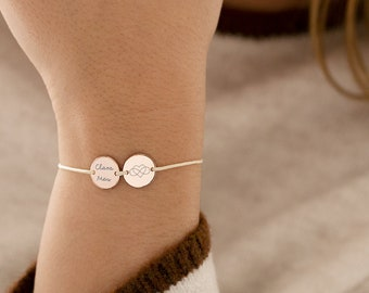 Bestseller einkaufen speziell für Schuh klassische Stile Armband Gravur Band doublé plattiert farbecht Namensarmband ...