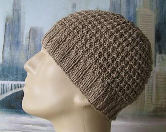 Men s Hat Pattern  Ethan  Men s Knitted Hat  2f63bd0a398