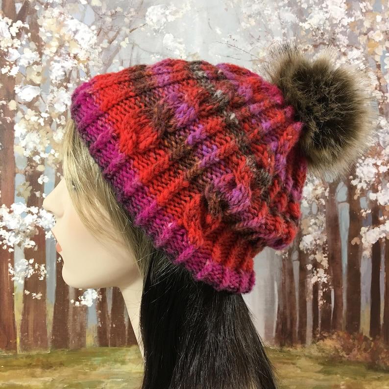 Women's Knit Hat Pattern Knitting pattern for Noro   Etsy