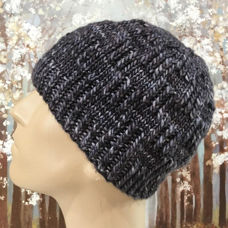 ca5c5d39e43306 Instant Download Knit Hat Knitting Pattern for Men's Hat | Etsy