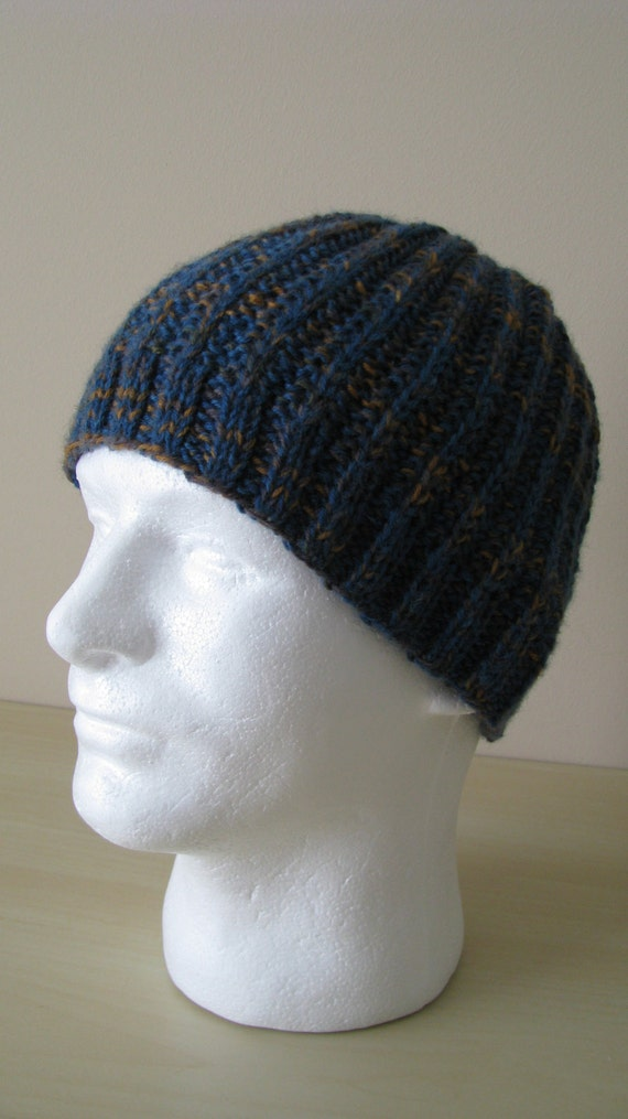 Mens Hat Pattern Ethan Mens Knitted Hat Pattern Or Chemo Hat
