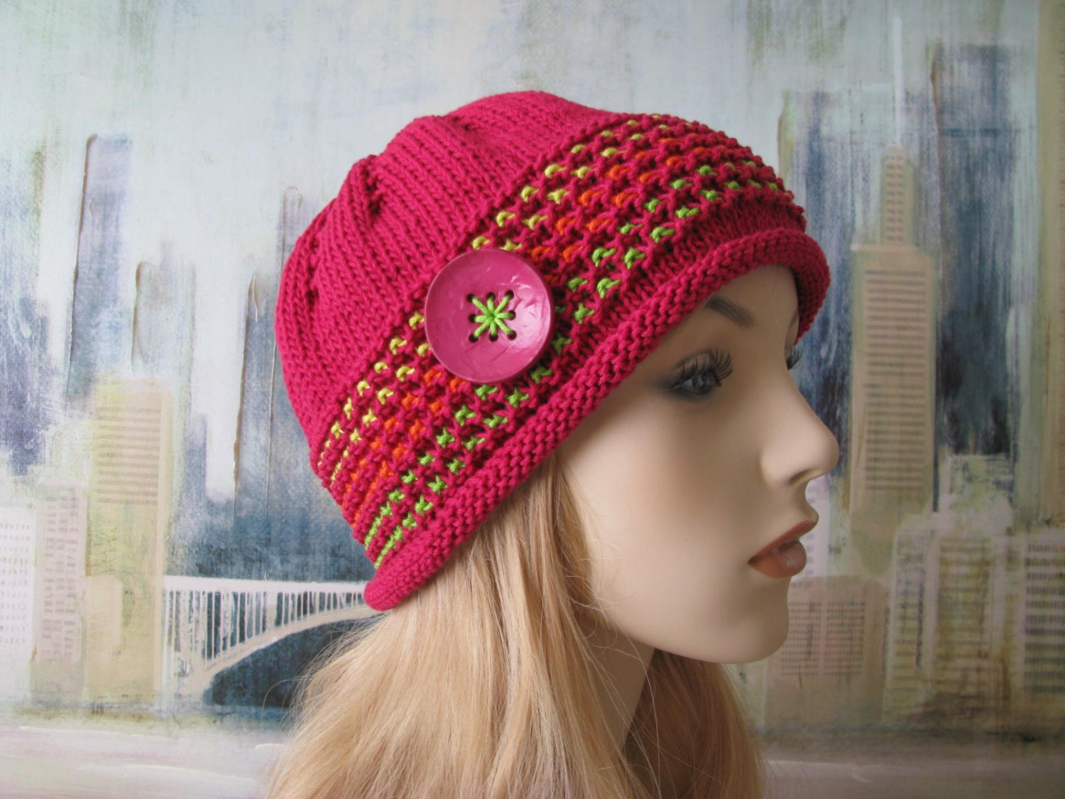Knitted Chemo Hat Patterns Awesome Decorating