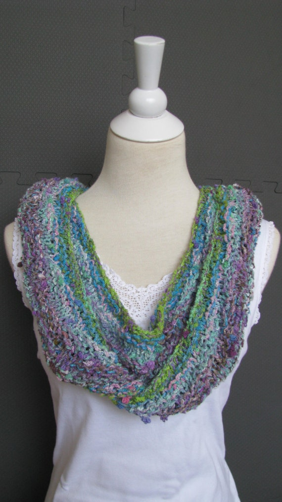 Instant Download Knitting Pattern Knitted Scarf Noro Yarn Etsy