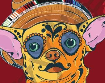 Chihuahua Sugar Skull