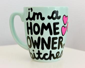 new home housewarming gift, housewarming gift, new home gift, new house gift, new homeowners, closing gifts, first home gift, home owner mug