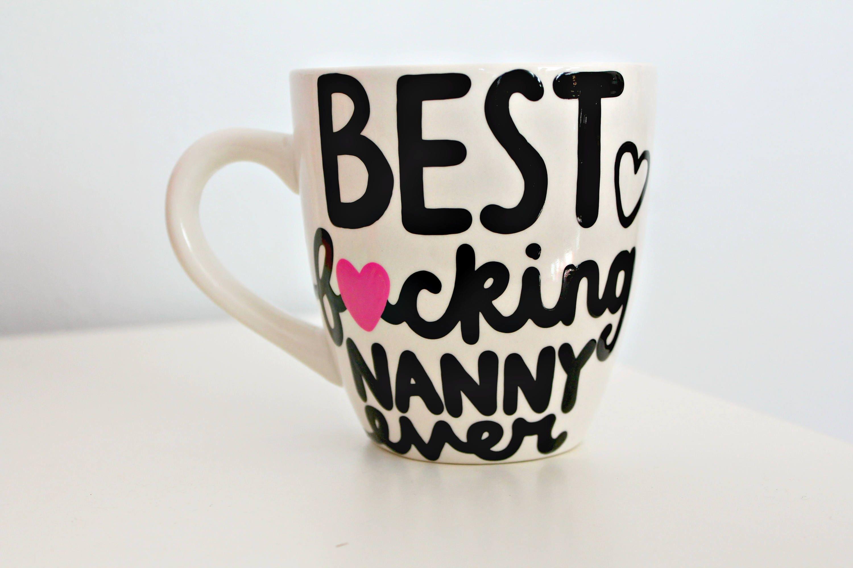 nanny mug nanny gift nanny christmas gift nanny birthday | Etsy
