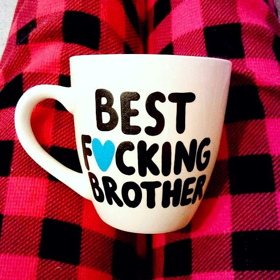 christmas gifts for brother funny brother mug funny | Etsy