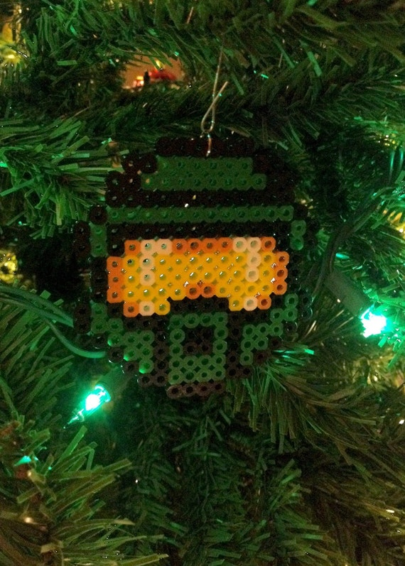 Halo Christmas Ornament.Halo Inspired Master Chief Ornament