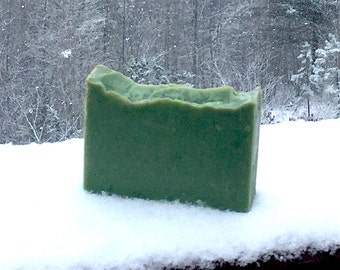 Wintergreen Soap with Aloe and Shea Butter