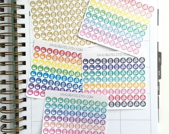 Movie stickers for Day Designer and other planners