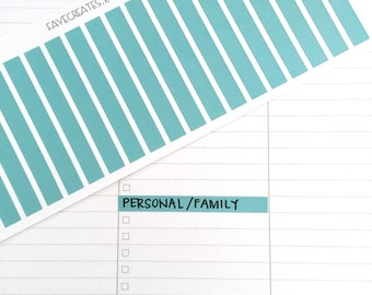 Divider stickers for large daily Blue Sky Day Designer