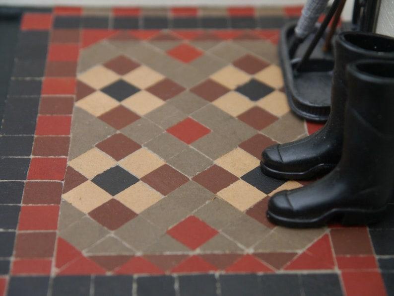1 12th Real Brick Brown 1 3 Victorian Path Porch Dolls Etsy