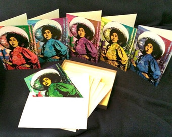 Unkown Soldadera Mexican Women of Revolution Mexican Revolution Greeting cards woman cards blank cards