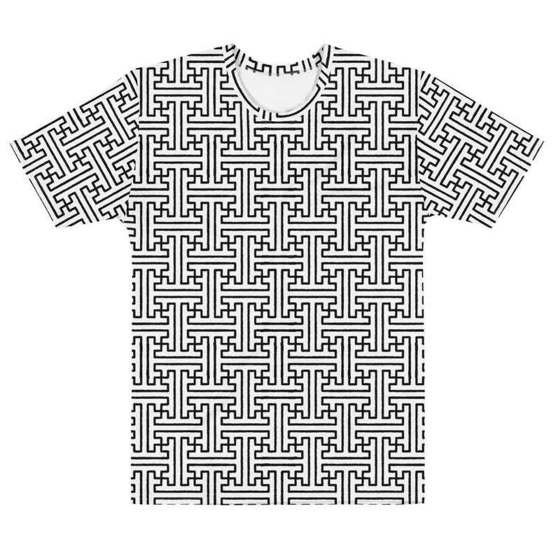 Sayagata 2  White Unisex AOP T-shirt image 0