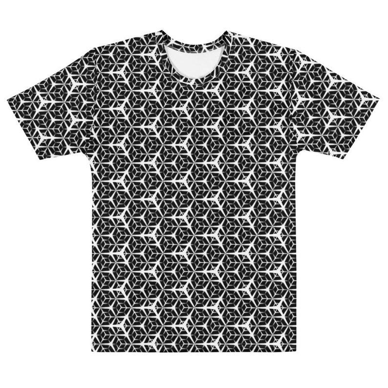 Geometry 1  Unisex AOP T-shirt image 0