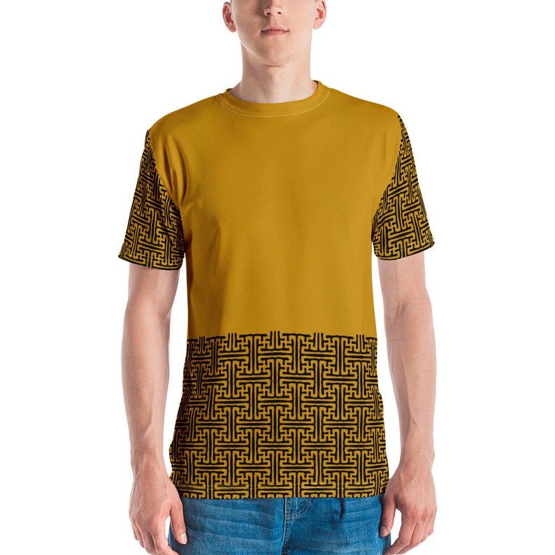 Sayagata 3 Mustard  Unisex T-shirt image 0