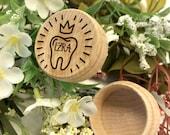 Personalized Tooth Fairy Box Tooth Fairy Holder Custom Name Trinket Box Keepsake