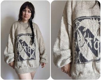 XL - Pisces Wool Sweater