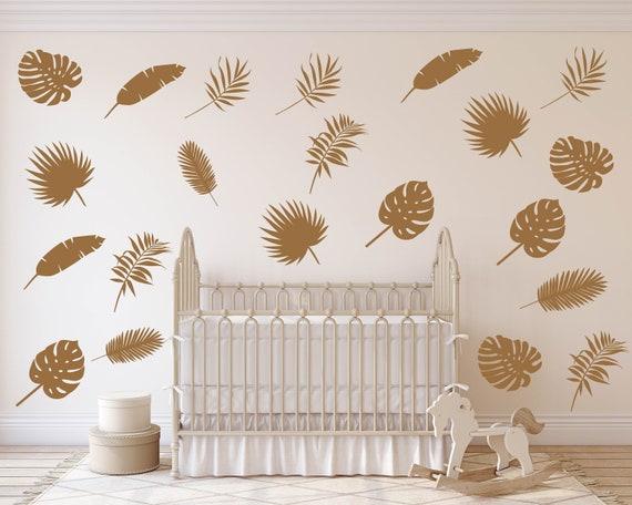 Door Mural Gold Fish View Wall Stickers Decal Wallpaper 275