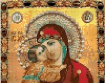 E-Pattern Colorful Religious Cross Stitch Pattern 18