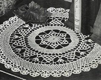 002 Crochet Doily Pattern