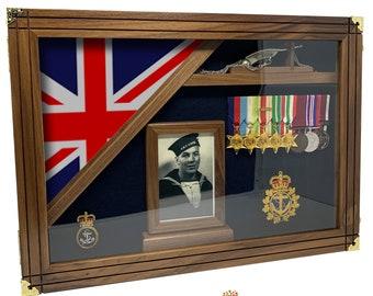 Military Shadow Box - The Lasting Memory