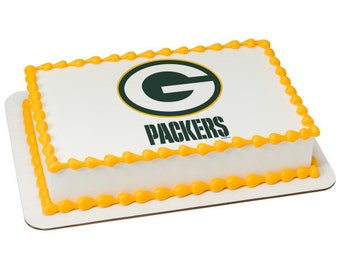 Packers Cake Topper Etsy