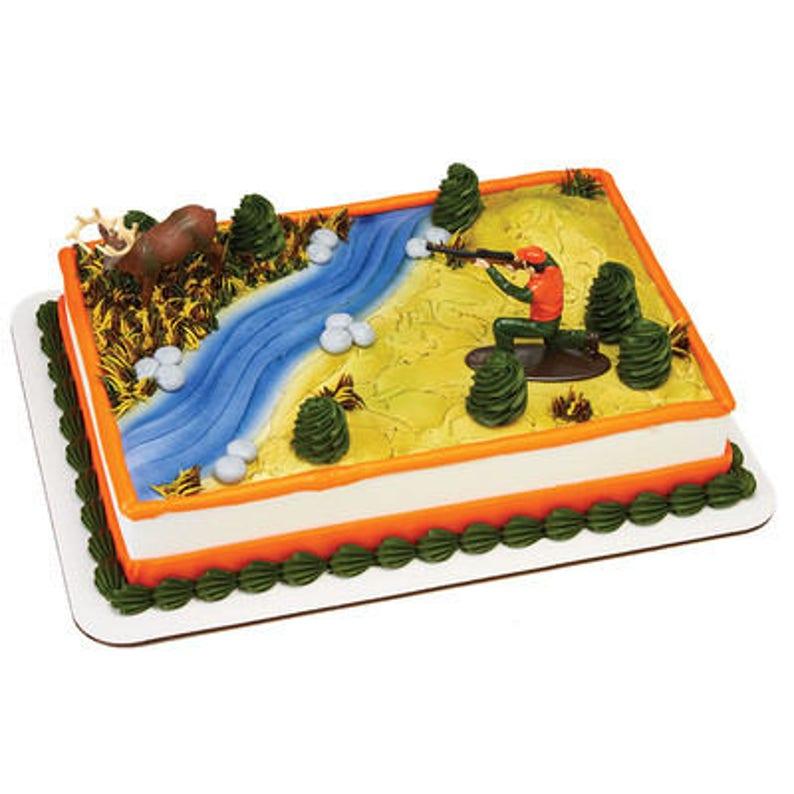 Deer Hunter Cake Topper Hunters Birthday
