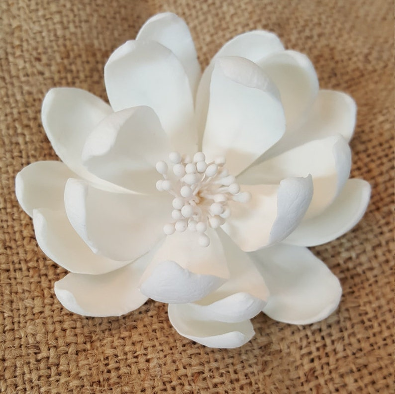 3 Medium Lotus Cake Topper Edible Unique Flower Cake Etsy