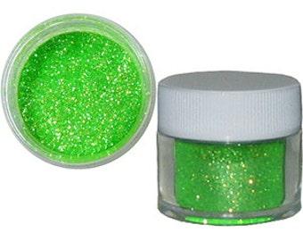 Edible Lime Green Glitter/ Edible Glitter/ Cake Glitter/ Edible Cake Shimmer/ Heat Lime Green Edible Cake Glitter