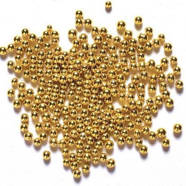 Edible Gold Sugar Pearls/ Gold Sugar Pearls/ Edible Gold Sugar   Etsy