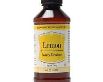 LorAnn Bakery Emulsion - Lemon 4 fl. oz.