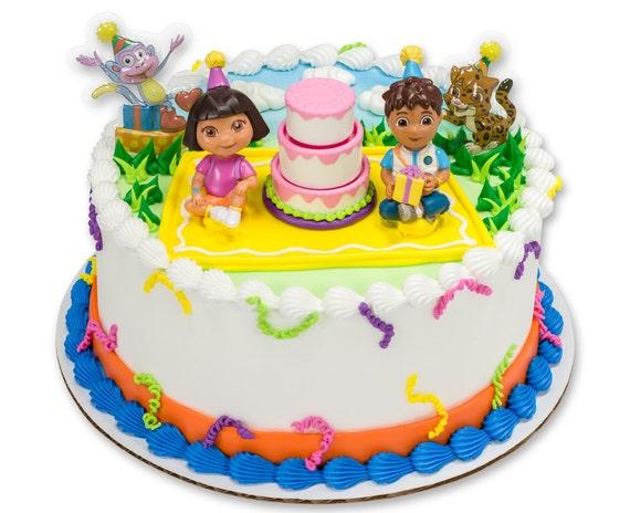 Dora Cake Topper Kit Birthday